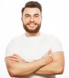 Młody brodaty mężczyzna Zdjęcia Stock