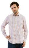 Młody caucasian mężczyzna z brodą Fotografia Stock