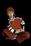 Młody chłodno nastoletni z postawą Zdjęcia Stock