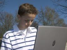 młody chłopiec Obrazy Stock