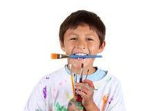 Młody chłopiec artysta Zdjęcie Royalty Free