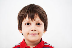 Młody chłopiec ono uśmiecha się Fotografia Stock