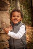 Młody chłopiec portret Zdjęcia Royalty Free