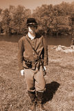 Młody Cywilnej wojny żołnierz Obraz Royalty Free