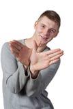 Młody człowiek Zdjęcia Stock