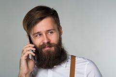 Młody człowiek broda obraz stock