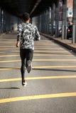Młody człowiek iść dla jog w Miasto Nowy Jork Zdjęcie Stock