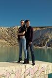 Młody człowiek i kobieta Zdjęcie Stock