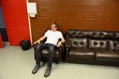 Młody człowiek odpoczynek Obrazy Royalty Free
