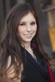 Młody dorosłej kobiety ono uśmiecha się Obraz Royalty Free