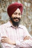 Młody dorosły indyjski sikhijski mężczyzna Obraz Royalty Free