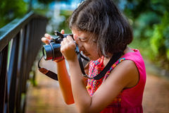 Młody fotograf fotografia royalty free