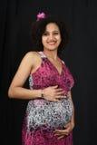 Młody kobieta w ciąży Obrazy Royalty Free