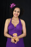 Młody kobieta w ciąży Zdjęcia Stock