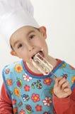 młody kucharzy obraz royalty free