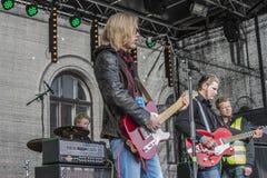 Młody kultura festiwal Halden 15, 18 Kwiecień, 2015 (Norwegia) Fotografia Royalty Free