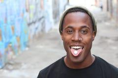 Młody męski doświadczalnictwo z rekreacyjnymi lekami Fotografia Stock