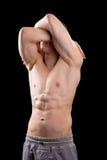 Młody mięśniowy mężczyzna Obrazy Stock