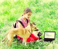 Młody naukowiec outdoors Fotografia Stock