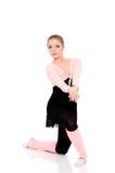 Młody piękny baletniczy tancerz Zdjęcie Royalty Free
