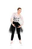 Młody piękny baletniczy tancerz Fotografia Stock
