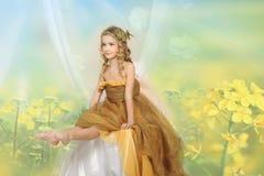 Młody princess zdjęcia stock