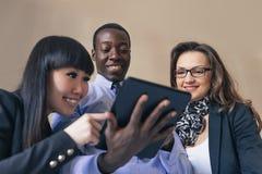 Młody przedsiębiorców Pracować Obrazy Stock