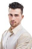 Młody przypadkowy mężczyzna portret Fotografia Stock