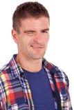 Młody przypadkowy target113_0_ mężczyzna Obraz Royalty Free