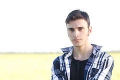 Młody przystojny młody facet fotografia royalty free