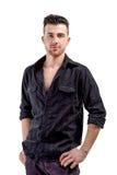 Młody przystojny mięśniowy mężczyzna Zdjęcie Stock
