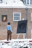 Młody Rembrandt zdjęcia royalty free
