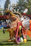 Młody tancerz 49th roczny Zlany plemienia Pow no! no! w Bismark zdjęcia stock