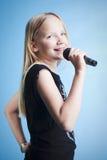 młodych piosenkarzy fotografia royalty free