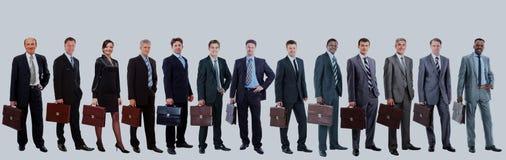 Młodzi atrakcyjni ludzie biznesu - elita biznesu drużyna Fotografia Royalty Free
