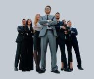 Młodzi atrakcyjni ludzie biznesu - elita biznesu drużyna Zdjęcie Stock