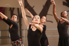 młodzi baletniczy ucznie obraz stock