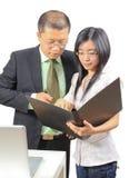 młodzi biznesowi chińczycy Zdjęcia Royalty Free