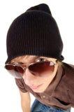 młodzi facetów okulary przeciwsłoneczne Fotografia Stock