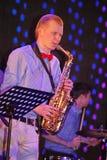 Młodzi geniuszi jazz przy świetlicowy olimpia Obrazy Royalty Free