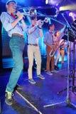 Młodzi geniuszi jazz przy świetlicowy olimpia Zdjęcia Stock