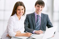 Młodzi ludzie biznesu Obraz Stock
