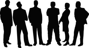 Młodzi Ludzie drużyn Obraz Royalty Free