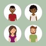Młodzi ludzie kreskówek ilustracja wektor