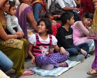 Młodzi ludzie Nepal zdjęcia royalty free
