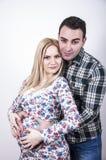 Młodzi piękni rodzice Zdjęcie Royalty Free