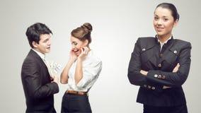 Młodzi pomyślni ludzie biznesu Zdjęcie Royalty Free