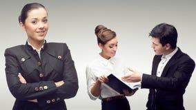 Młodzi pomyślni ludzie biznesu Fotografia Royalty Free