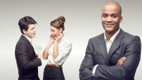 Młodzi pomyślni ludzie biznesu Obraz Stock