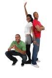 młodzi szczęśliwi ludzie Fotografia Royalty Free
